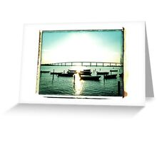 Boats on the Solomons (1) Greeting Card
