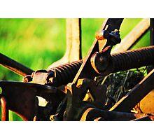 rustic spade Photographic Print