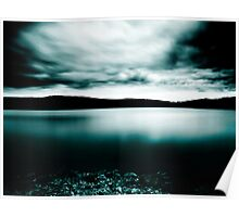 Nocturnal Ambience in Lake Poster