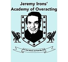 Jeremy Irons Academy Photographic Print