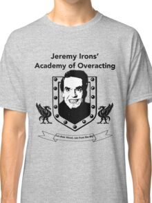 Jeremy Irons Academy Classic T-Shirt