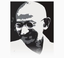 Gandhi by solankill