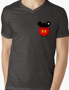 [Men] Mickey's Love Mens V-Neck T-Shirt