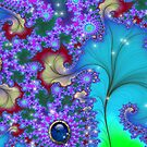 Fractal Floral Gems # 3 by Junior Mclean