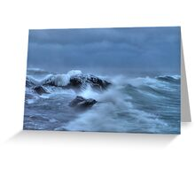 Savage Seas Greeting Card