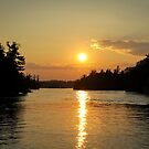 1000 Islands Sunset by Jenn Kellar