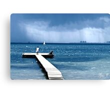 Dull day Canvas Print