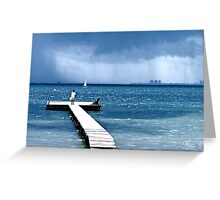 Dull day Greeting Card
