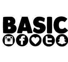 Basic Social Media Photographic Print