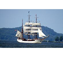 The Bark Europa - A Tall Ship Photographic Print