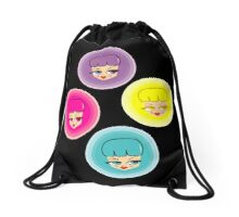Pretty Girls Polka Dot Drawstring Bag
