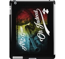 Omar Little - Oh Indeed (Rainbow) - Cloud Nine Edition iPad Case/Skin