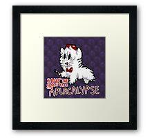 Dr.  who alpacalypse Framed Print