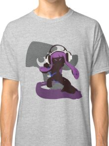 Purple Female Inkling - Sunset Shores Classic T-Shirt