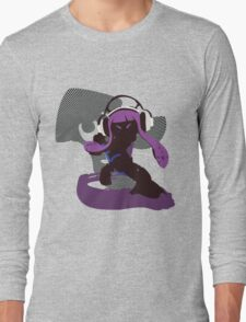 Purple Female Inkling - Sunset Shores Long Sleeve T-Shirt
