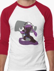 Purple Female Inkling - Sunset Shores Men's Baseball ¾ T-Shirt