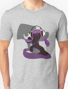 Purple Female Inkling - Sunset Shores Unisex T-Shirt