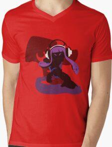 Purple Female Inkling - Sunset Shores Mens V-Neck T-Shirt