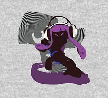 Purple Female Inkling - Sunset Shores Unisex T-Shirt