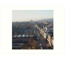 Princes Street, Edinburgh Art Print