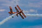 Breitling Biplanes At Airbourne, England by Chris Lord
