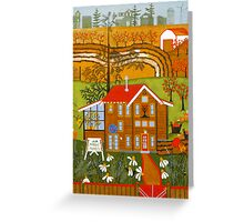 """Hortense's Herbs"" greeting card Greeting Card"