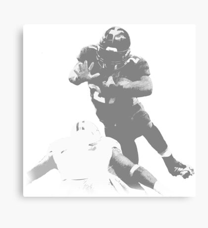 Running Back Collection Canvas Print