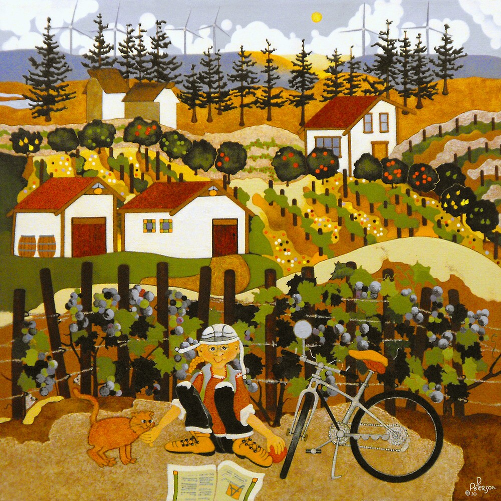 At The Winery by Dawn Peterson