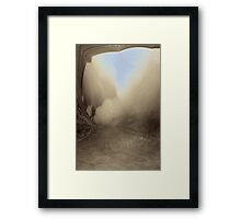 RollingMist Framed Print