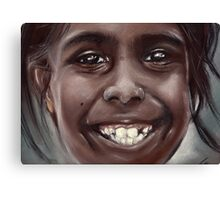 a great smile Canvas Print