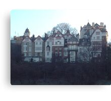 Ramsay Gardens, Edinburgh Canvas Print