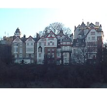 Ramsay Gardens, Edinburgh Photographic Print