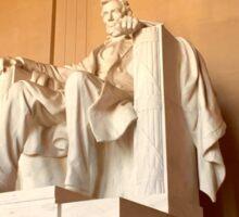 The Lincoln Memorial Sticker