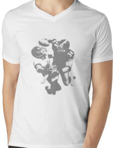 Touchdown Football Player Collection Mens V-Neck T-Shirt