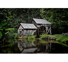 Mabry Mill Photographic Print