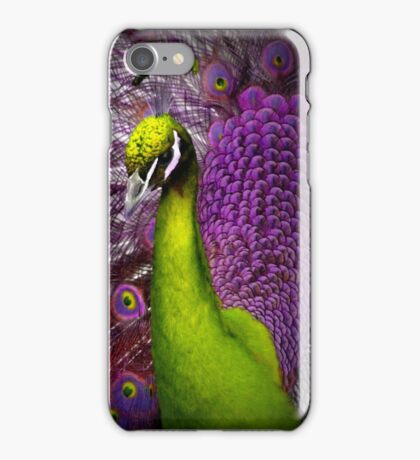 Psychedelic Peacock iPhone Case/Skin