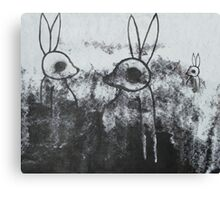 The Truth About Bunnies Canvas Print