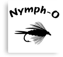Nymph-O Canvas Print