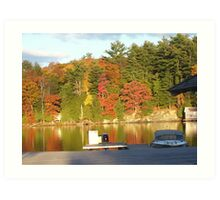 Autumn in Muskoka Art Print