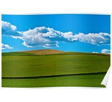 Palouse Wheatfields Poster