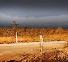 STORM CLOUDS AND RUSTY WIRE by zimmie22