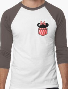 [Women] Minnie's Love Men's Baseball ¾ T-Shirt