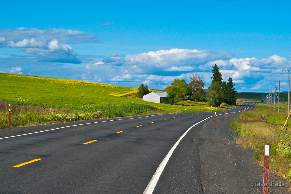 Palouse Road by RavenFalls