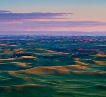Palouse Sunset by RavenFalls