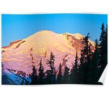 Rainier Sunrise Poster