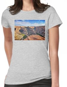 Devil Canyon Overlook Womens Fitted T-Shirt