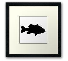 Simply Bass Framed Print