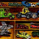 Hot Wheels by Debra Keirce