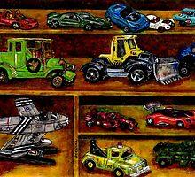 Hot Wheels by Debra Keirce