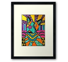 PIT BULL LOVE!  Framed Print